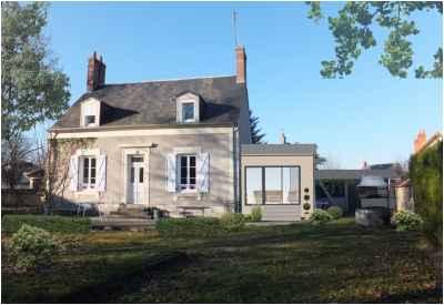Extension d'une maison à Nevers - 3D