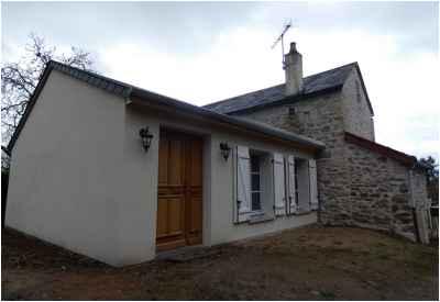 Extension d'une maison à Saint-Saulge - Après