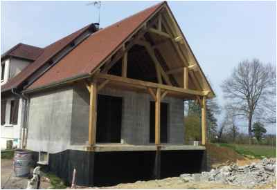 Extension d'une maison à Saint-Martin d'Heuille