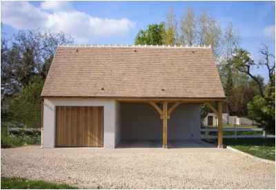 Construction d'un garage traditionnel à Marzy